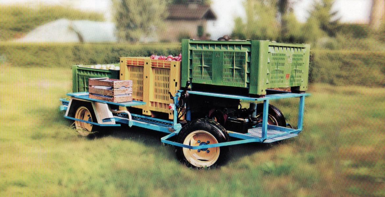 Carro semovente tipo T.F.2 - T.F.3 per raccolta terra