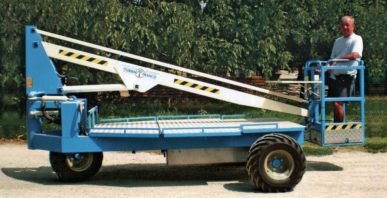 Piattaforma di lavoro elevabile semovente di tipo 3 - Modello T.F.401 E